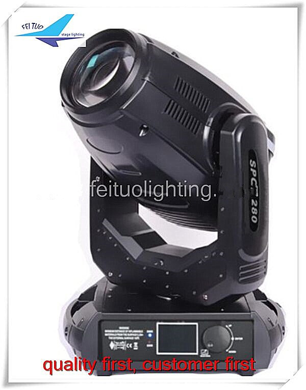 free shipping 8pcs/lot beam spot 280w moving head lights sharpy 10r stage 3in1 gobos lumiere lights for dj show club disco party