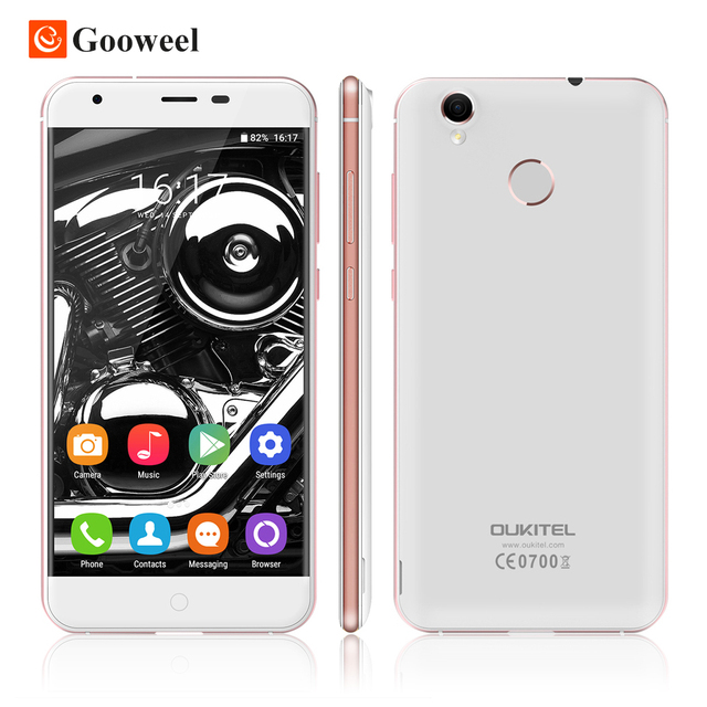 "Оригинал Oukitel K7000 5.0 ""HD IPS Смартфон MTK6737 Quad Core 4 г сотовый телефон 2 Г RAM 16 Г ROM 8MP Камера Android 6.0 мобильный телефон"