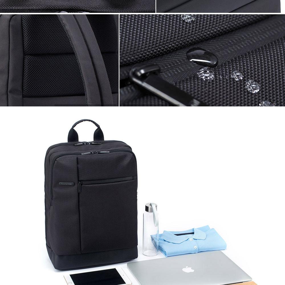 Original Xiaomi Backpack Classic Business Backpacks 17L Capacity Students  Laptop  Men Women Bag  For 15-inch Laptop OK (7)
