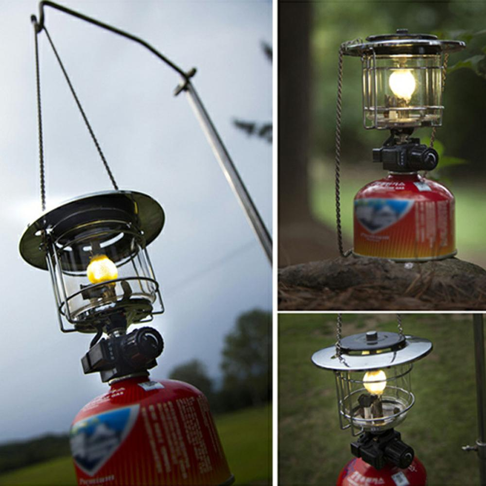 10pcs Gas Lamp Mantles Outdoor Camping Hanging 10cm Propane Gas Lantern With Gas Lamp Mantles Cover