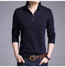 2018 nueva moda coreana hombres de algodón de Color puro estilo de la calle  camisa de manga larga Casual hombres ropa Fit Corea 03e82326ffe