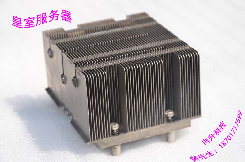 2U 771-pin CPU radiator 3 heat pipe aluminum S5000 5100 motherboard heatsink fins 771 pin cpu cooler heatsink s5000 1u server 5100 motherboard universal radiators