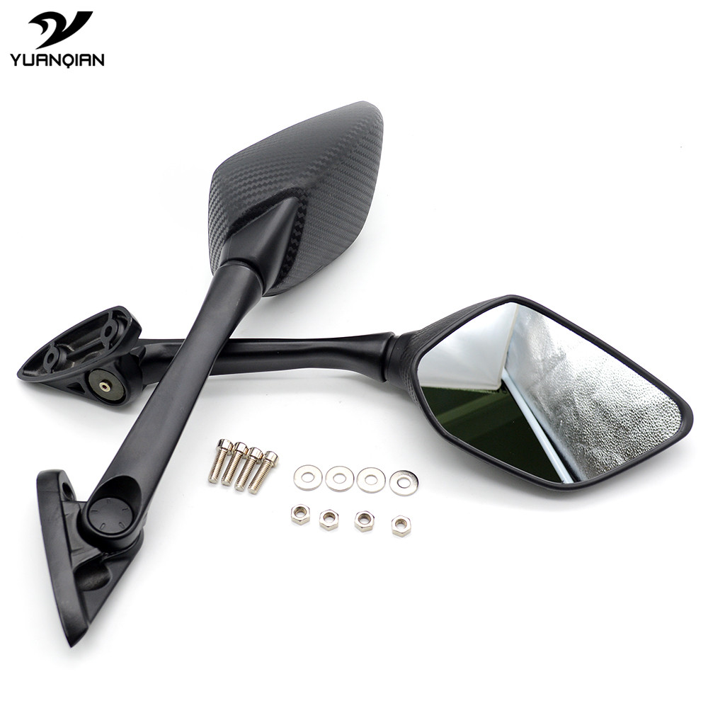 Motorcycle Mirror Rearview Side mirrors moto accessories FOR YAMAHA YZF R25 2014 2016 YZF R3 2015 2017 yamaha YZF R15 2013 2015 in Side Mirrors Accessories from Automobiles Motorcycles