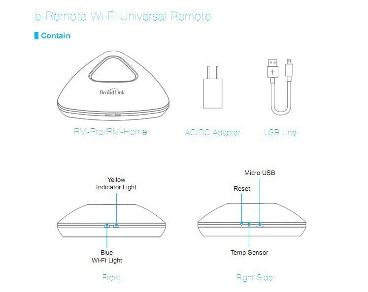 broadlink rm pro smart home remote controller