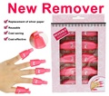 Nail Art Plastic Reusable Gel Nail Polish Remover 10pc Soak Off Cap Clip UV Gel Polish Remover Cleaner Clip Cap Gel Remover Tool