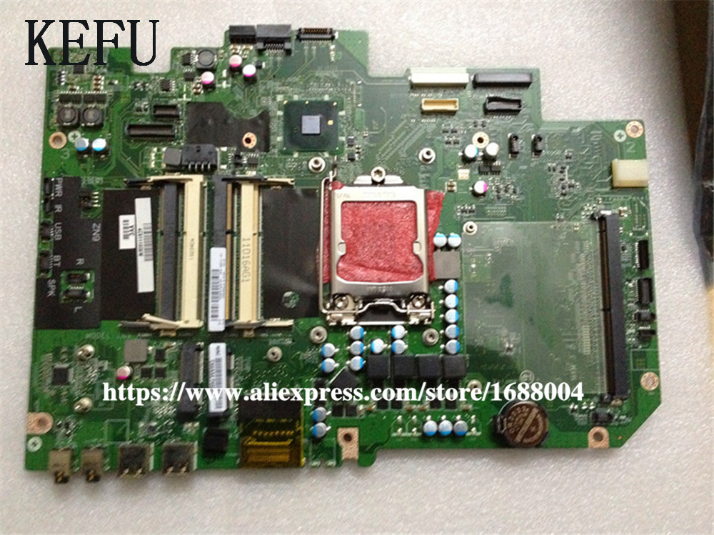 Laptop Motherboard for HP TouchSmart 610 648512-001 DA0ZN9MB6H0 REV H A57  HD 5570 DDR3 Mother Board