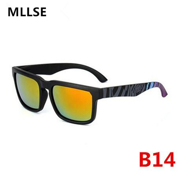 ec2f3eac33a58 2018 Moldura Quadrada óculos de KEN BLOCK Homens Mulheres Marca Designer  Revestimento Reflexivo Óculos de Sol