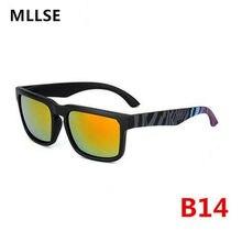 b2b38296c 2018 Moldura Quadrada óculos de KEN BLOCK Homens Mulheres Marca Designer  Revestimento Reflexivo Óculos de Sol UV400 Goggle Espia.