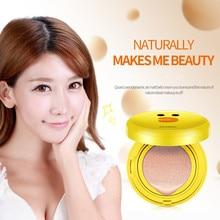 Air Cushion BB&CC Cream Foundation Wet Powder Concealer Whitening Moisturizing Brighten Sunscreen Bare Makeup 15g