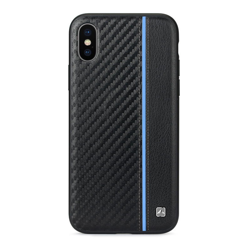 finest selection 3cbe8 4a6c9 US $14.99  For iPhone X New Arrival MELEOVO Brand Invisible Magnet  Stitching Leather+PC Back Case Slim Hard Cover for iPhone 8 7 Plus-in Flip  Cases ...