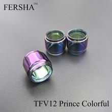 FERSHA elektronikus cigaretta üveg SMOK TFV12 herceg 1db / 2db Minden RTA porlasztó színes üvegcső