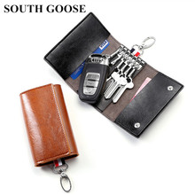 Key Wallets Key-Case Card-Bag Women Housekeepers PU with Wholesale Multi-Function South-Goose