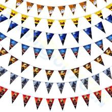 160pcs Halloween Party Decoration Garland Bunting Flags Pumpkin Home Mall Banner festival Pendant Props
