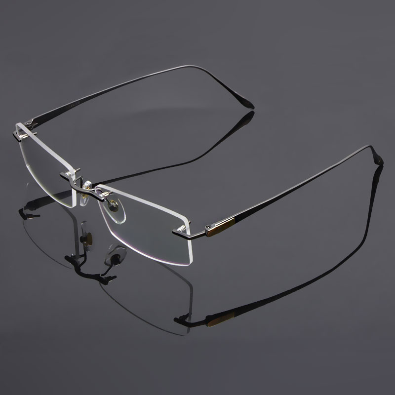 Reven Jate სათვალეები Rimless Eyeglasses Titanium - ტანსაცმლის აქსესუარები - ფოტო 3