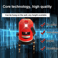 Lasers Level Red Cross Line 1 Point 360 Degree Rotary Self leveling Nivel Diagnostic Tools JDH99