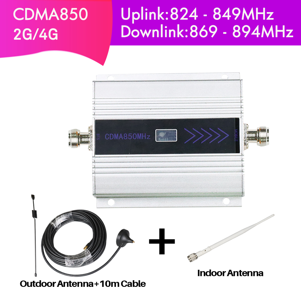 CDMA Repeater 60dB LCD 2G 4G 850mhz Mobile Phone Signal Repeater Booster Cell Phone Signal Amplifier cell antenna repeater setsCDMA Repeater 60dB LCD 2G 4G 850mhz Mobile Phone Signal Repeater Booster Cell Phone Signal Amplifier cell antenna repeater sets
