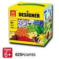 625 шт./компл. Образование Блоков DIY Игрушки Совместимость С Lego Творческие Кирпичи Для Детей Раннего Обучения Игрушки Сборки