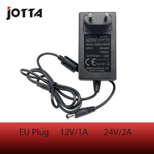 AC 100-240V to DC 24V 2A EU Plug AC/DC Power adapter charger Supply Adapter for Led Strips Lights