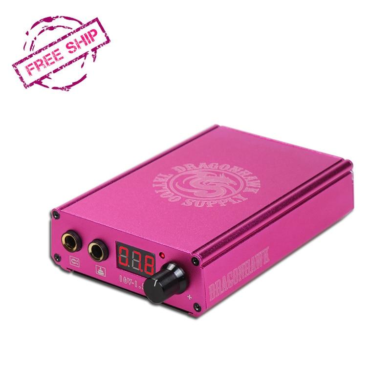 Ketibaan Baru Bateri Litium Power Box Tatu Dragonhawk LCD Untuk Mesin - Seni tatu dan badan - Foto 1