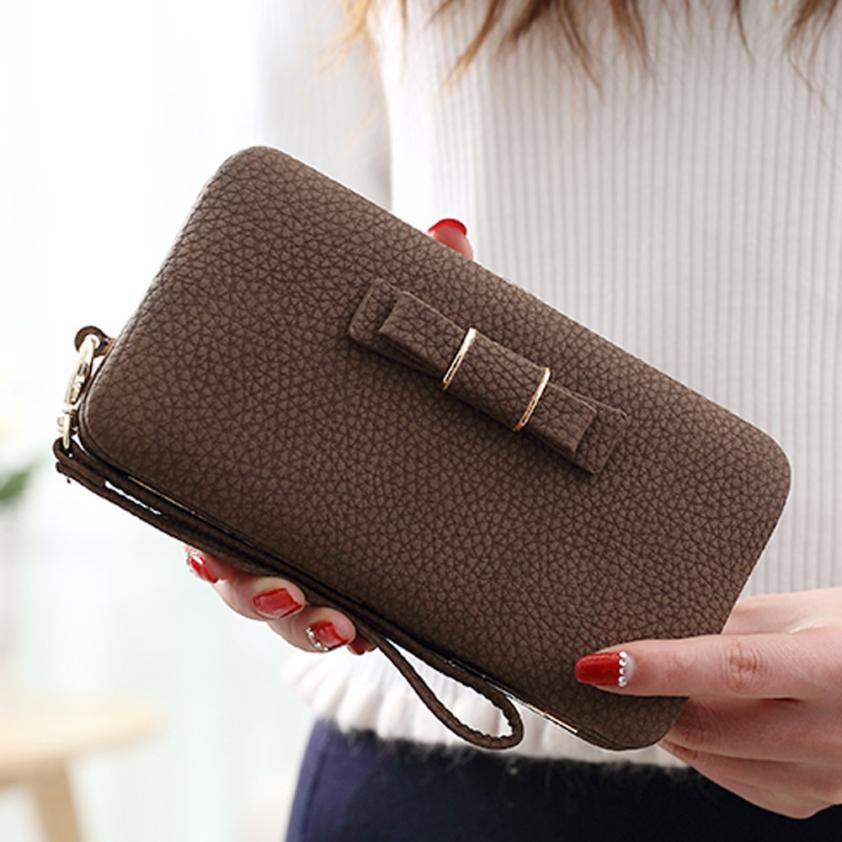 2020 New Women Wallets Dollar Price Long Purse Printing Wallet Card Holder Handbag Lady Bags carteras mujer portefeuille femme