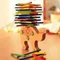 Bebé Juguetes Educativos Camel/Elefante Bloques de Equilibrio Equilibrio Juego de Juguetes De Madera De Haya De Madera Montessori Bloques de Regalo Para Los Niños