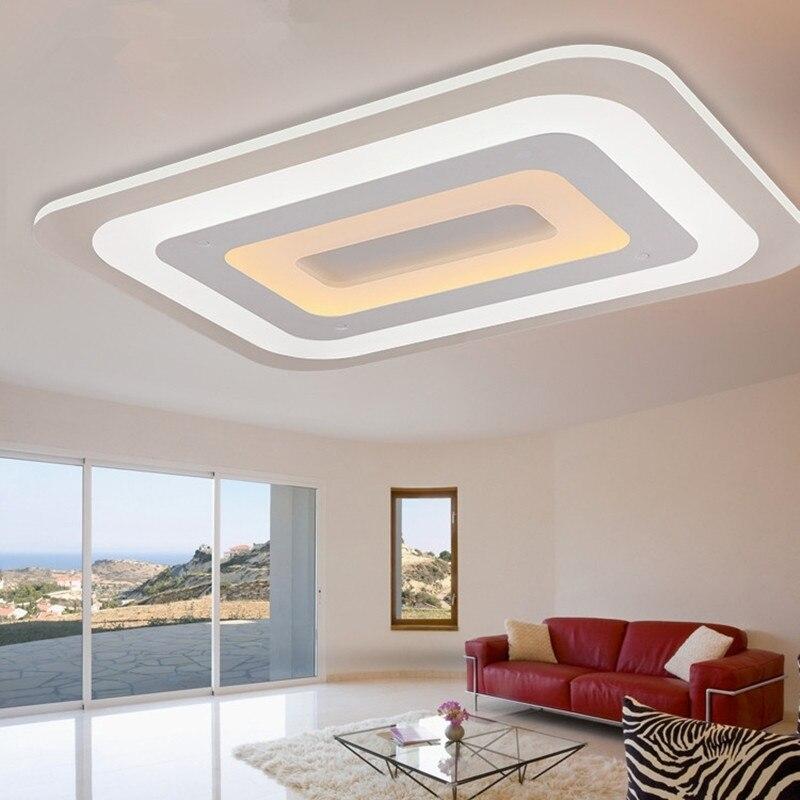 Dormitorio Moderno Con Luces Led Techo T Interior - Luces-led-para-casa