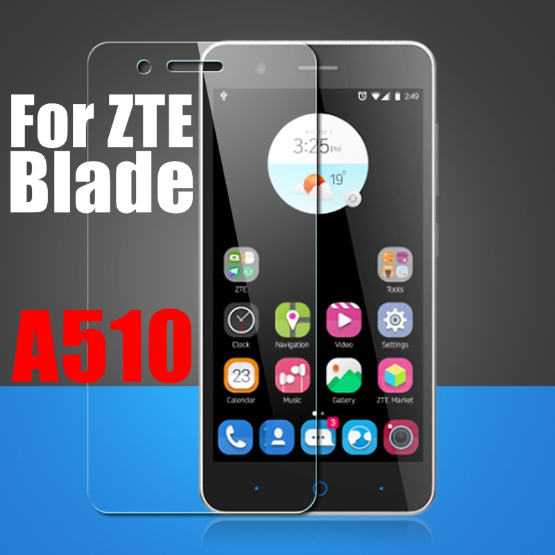 2.5D 9H Premium Explosion Proof Tempered Glass For ZTE Blade A510 A510T BA510 A 510 Screen Protector Toughened Glass Film Cover