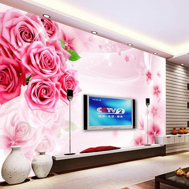 Aliexpress.com : Buy Custom mural TV background wallpaper living ...