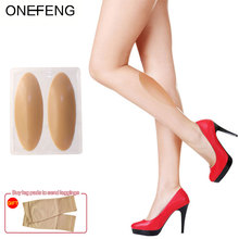 купить ONEFENG Leg Correctors Silicone Pads for Crooked Legs Self-Adhesive Gel Pads Stock Pads Soft Pads 5 Colors дешево