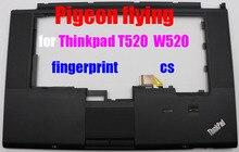 FRU 04X3738 04W0606 Thinkpad T520 W520 laptop tastatur Rahmen/palm rest für fingerprint CS