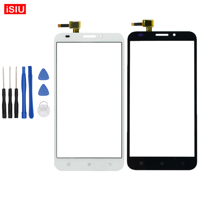 Black / White New 5.5 inch For Lenovo A916 / A 916 LCD Touch Screen Lens Glass Outer Front Panel + Tools