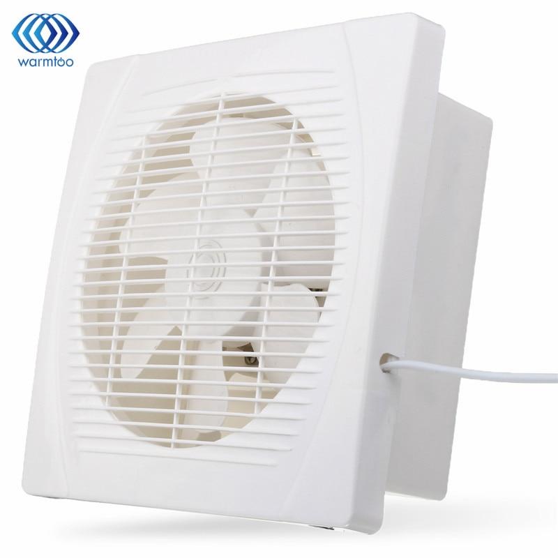 White 30w 8 inch ventilation extractor exhaust fan blower for 10 inch window exhaust fan