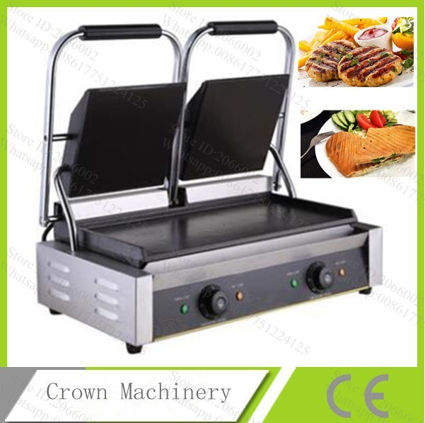 ce282d8ccd0 Detail Feedback Questions about 2 Head Panini Sandwich Makers Non stick  Double 2 Plate Sandwich Maker Machine on Aliexpress.com