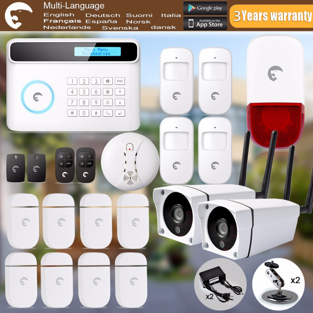 Wireless GSM Home Security Alarm System ISO Android APP Security Alarm System system security through log analysis