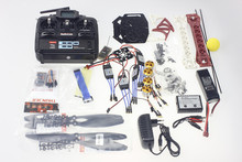 F07218-B QuadCopter ARF/Kit RTF: QQ Super Control + Motor + ESC + Marco + $ NUMBER CANALES TX y RX