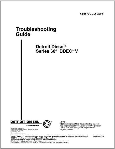 detroit diesel series 60 service manual pdf