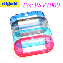 Cltgxdd Plastic Hard Case crystal shell Protective Cover Shell Skin Protector Hand Grip case For Sony PSVita PSV1000 Game machin