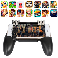Get more info on the PUBG Mobile Gamepad Joystick Metal L1 R1 Trigger Game Shooter Controller for IPhone Android Phone Mobile Gaming Gamepad