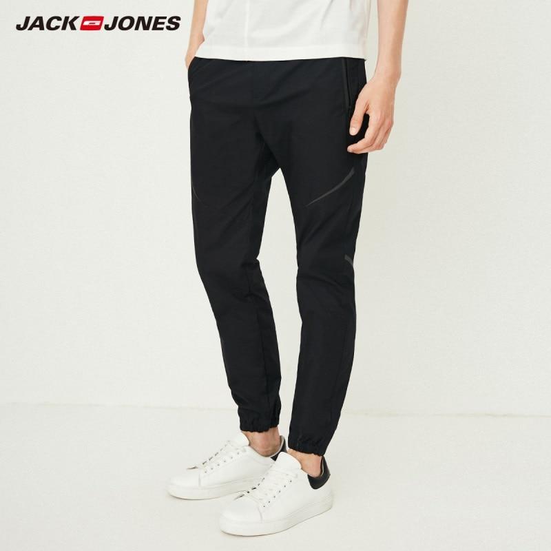 JackJones Men's 100% Cotton Drawstring Sweatpants Casual Jogger Pants Menswear 218314526