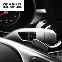 Car Styling Wiper Shift Lever Cruise Sequins Covers Frame Stickers For Mercedes Benz GLC C E