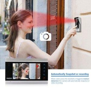 Image 5 - Tmezon 7 Polegada tft com fio sistema de vídeo porteiro com 1x 1200tvl câmera do telefone da porta à prova dwaterproof água, gravação apoio/instantâneo campainha