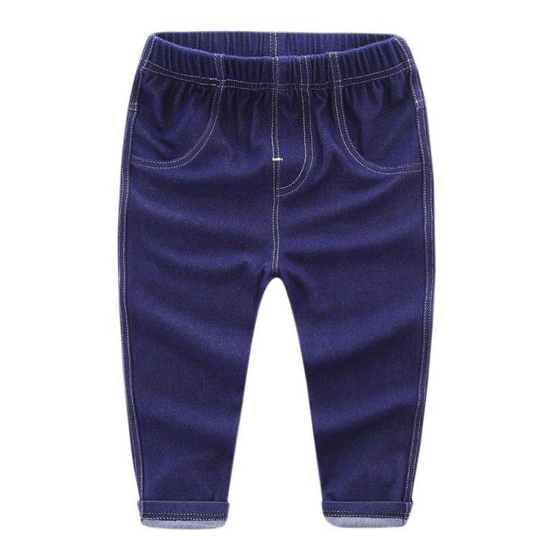 Baby Pants Kids Cool Washing Denim Pants Toddler Jeans All Match Pants Children Trousers ...