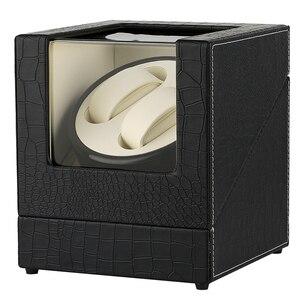 Image 2 - Автоматическая двойная коробка под кожу крокодила из белого углеродного волокна