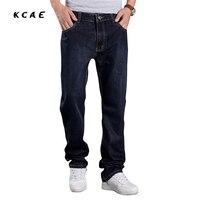 Men jeans men baggy jeans denim hiphop pants casual loose jeans trousers big size 29-48