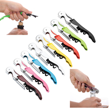 1Pc Wine Opener Corkscrew Stainless Steel MultiFunction Beer 8 Colors Can Kitchen Bar Accessories Bottle