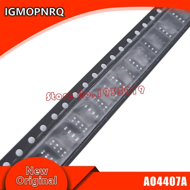10piece AO4407 4407 AO4407A 4407A MOSFET SOP-8 New Original