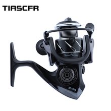 TIASCFR Spinning Fishing Reel14+1BBBearing Balls1000-7000 Series Metal Coil Reel Boat Rock Wheel