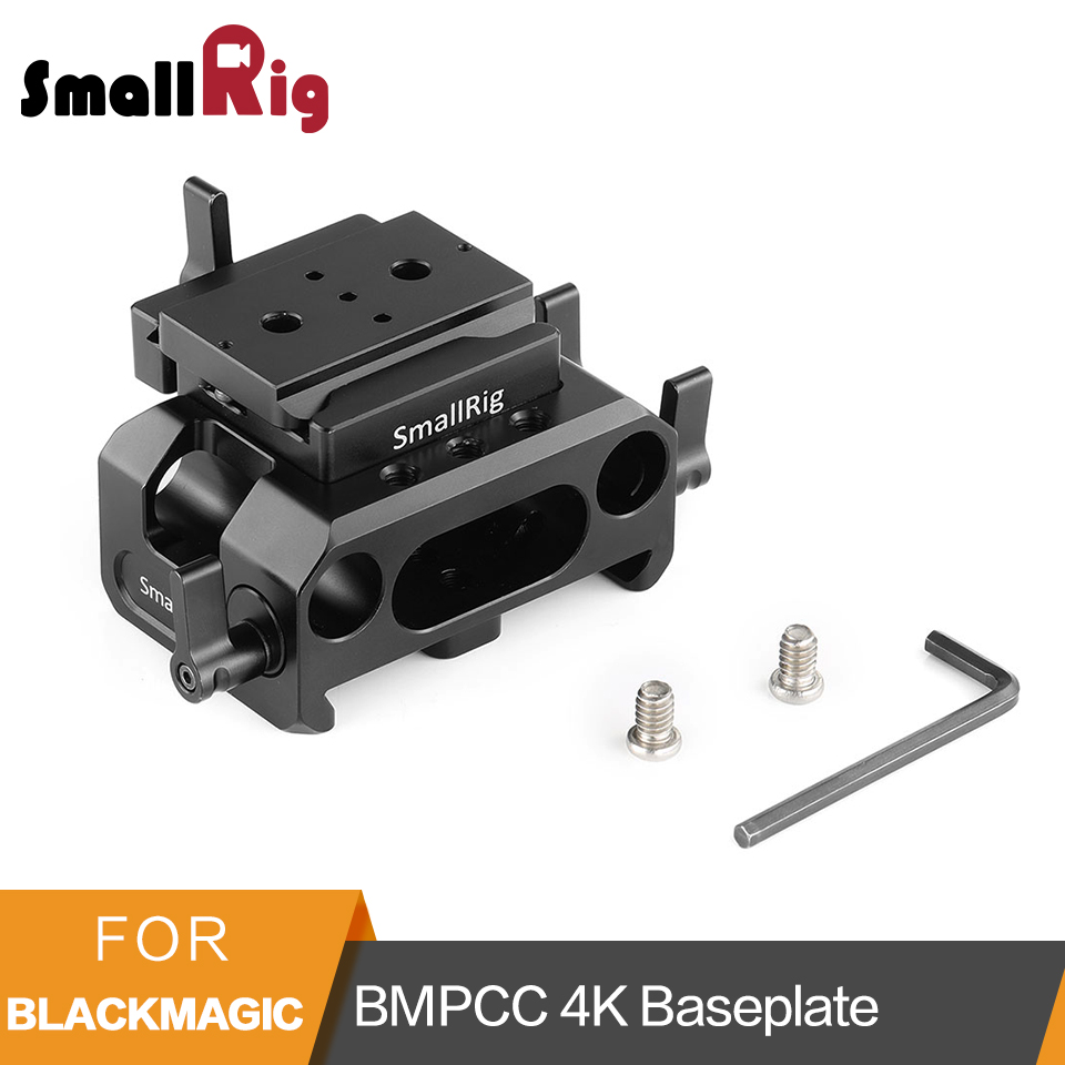 SmallRig Baseplate Kit for Blackmagic Design Pocket Cinema Camera BMPCC 4K (Arca Compatible) With Integrated ARRI Dovetail- 2261SmallRig Baseplate Kit for Blackmagic Design Pocket Cinema Camera BMPCC 4K (Arca Compatible) With Integrated ARRI Dovetail- 2261