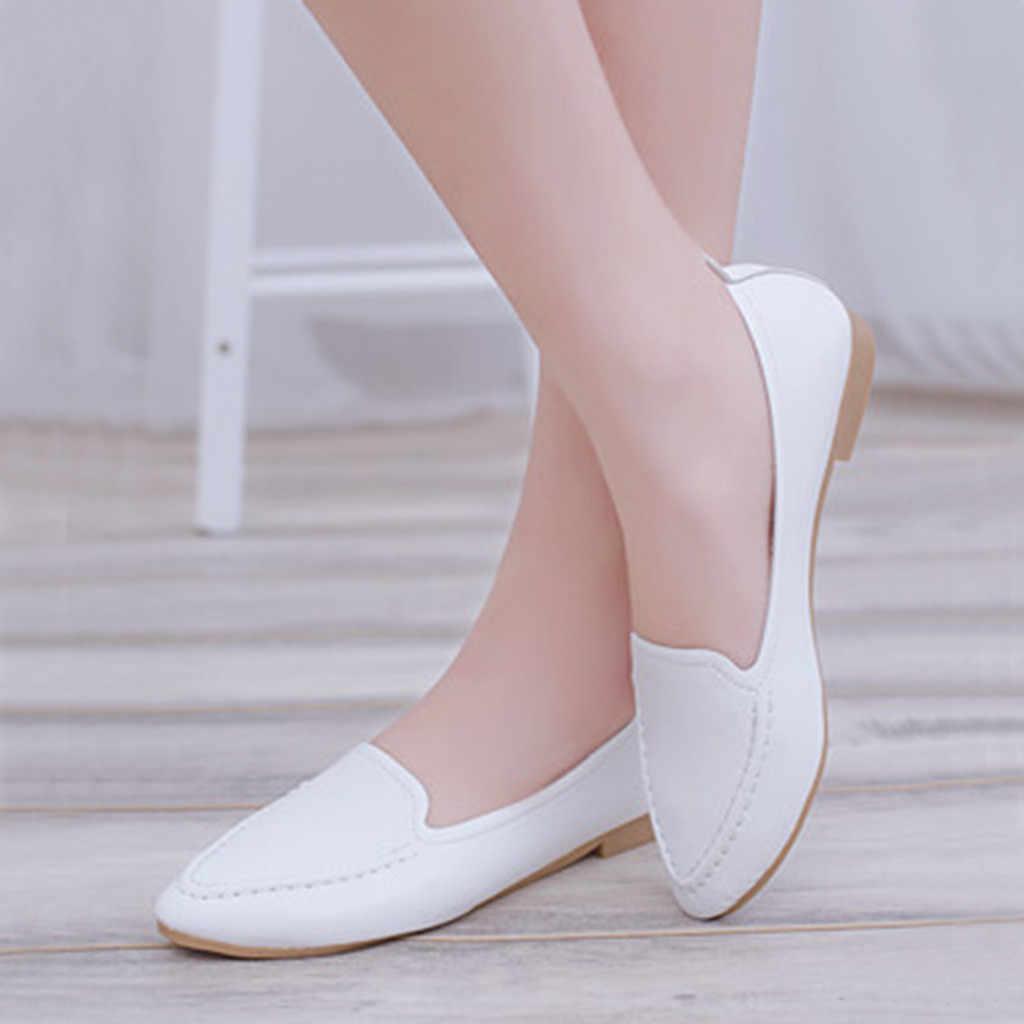 SAGACE รองเท้าผู้หญิง SLIP ON LADIES โรมัน Elegant หญิงสบายๆสุภาพสตรีรองเท้าทำงานรองเท้าผู้หญิงสบายสุภาพสตรีรองเท้าส้นเท้า