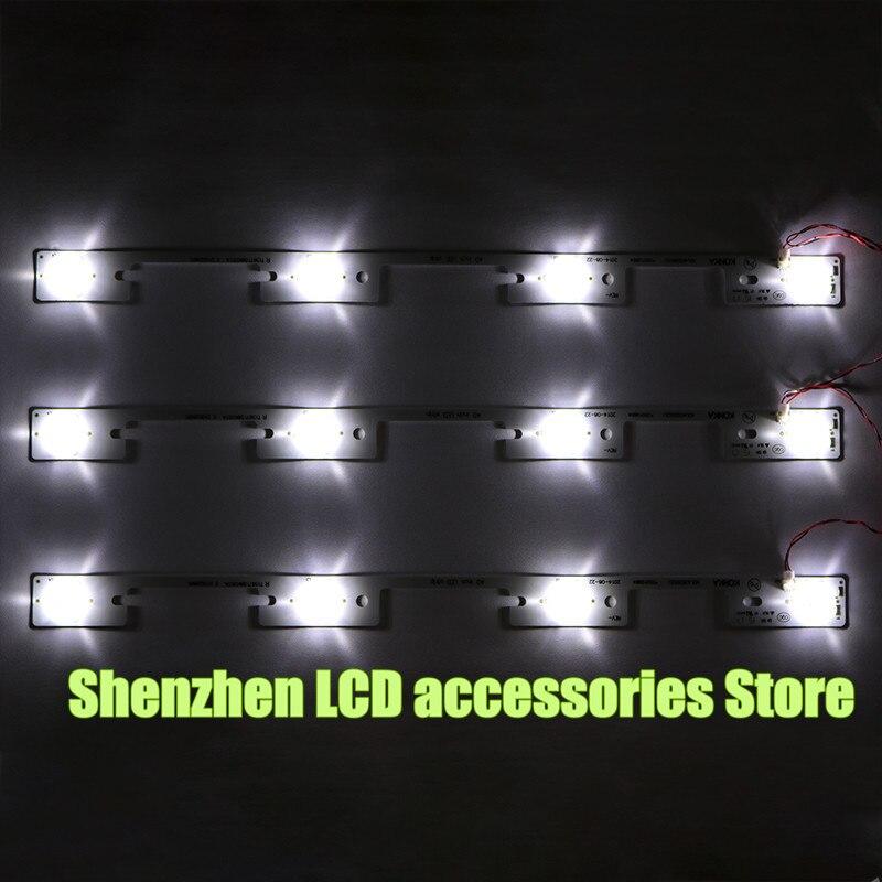 20Pieces lot NEW100 FOR KONKA KDL39SS662U LCD TV backlight bar 35018339 327mm 4 LEDs 1 LED
